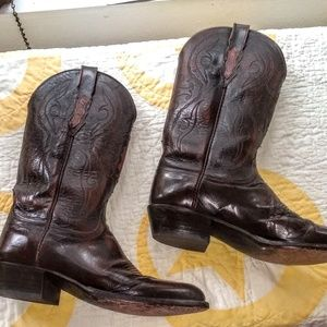 Lucchese Men's Hand Crafted Cowboy Boots